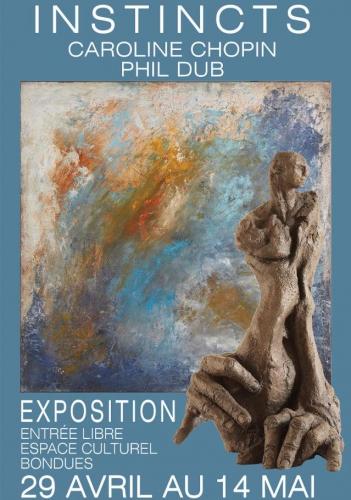 exposition, peinture, sculpture, nord, lille, bondues, caroline chopin, phil dub